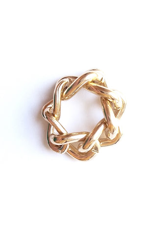 Gold Embrace Ring