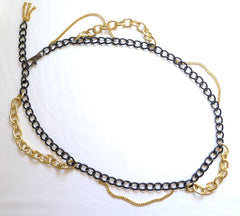 Mixed Chain Belt / Necklace