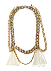 Crystalline Drape Necklace