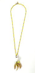 Banana Bunches Necklace