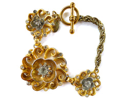 Antique Flowers Bracelet
