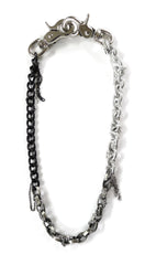Greyscale Necklace Chain