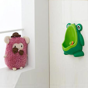 Kids Frog Potty Urinal Toilet A Wall-Mounted Trainer Toilet For Boys to Pee In The Bathroom