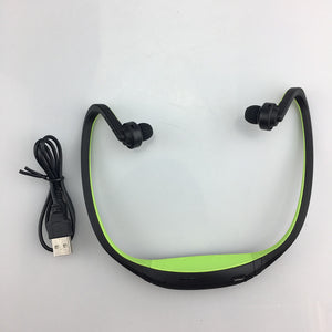 S9 Bluetooth Wireless Sports Earphone/Headphones - Supports TF/SD Card Microphone