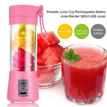 Load image into Gallery viewer, 12 oz / 380 ml USB Rechargeable Portable Blender Mixer