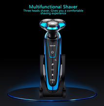 Load image into Gallery viewer, Men's Washable and Rechargeable Electric Shaver by TINTON LIFE