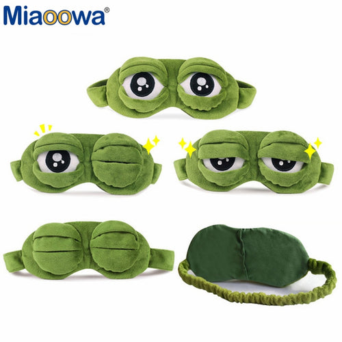 Frog Theme 3D Eye Mask Cover for Perfect Sleep