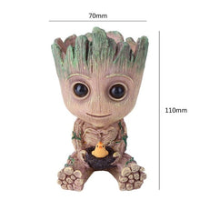 Load image into Gallery viewer, Baby Groot Flowerpot Flower Pot