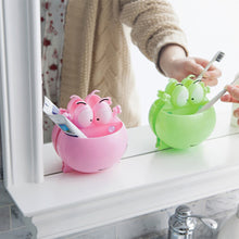 Load image into Gallery viewer, Frog Toothbrush Holder with Wall Suction Cups