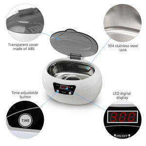 Ultrasonic Cleaner for Jewelry and Parts
