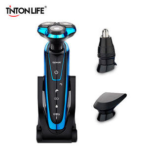 Men's Washable and Rechargeable Electric Shaver by TINTON LIFE