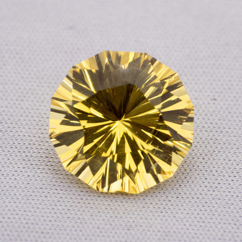 5.25ct Concave Cut Citrine