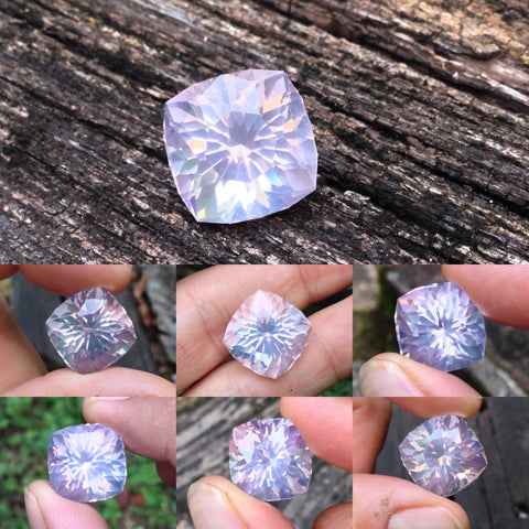 27.65ct Madagascar Rose Quartz by Roger Dery