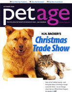Pet Age Magazine with Warren London