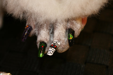 mummy_halloween nail art