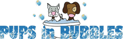 Pups In Bubbles Logo