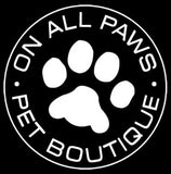 on all paws logo