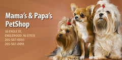 Mama and Papas Pet Shop Logo