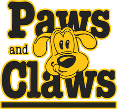 paws and claws logo