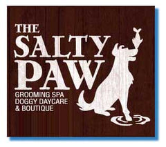 The Salty Paw Logo
