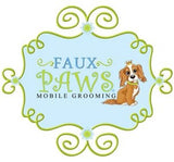 Faux Paws Pet Spa Logo