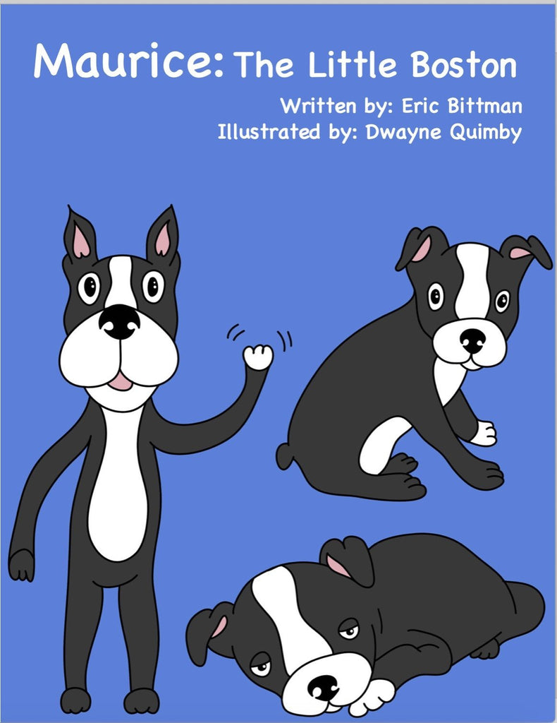 Childrens Book: Maurice - The Little Boston By Warren London Owner Eric Bittman