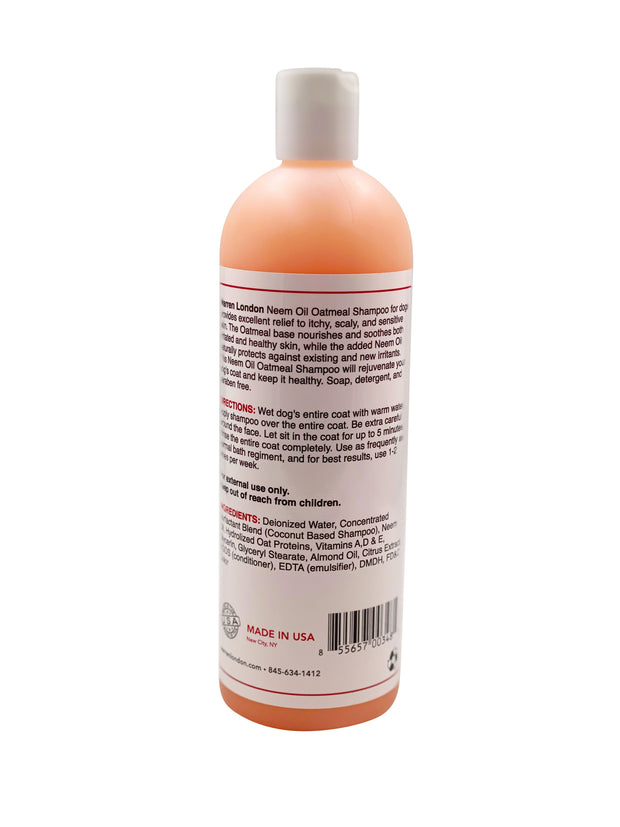 Neem Oil Oatmeal Shampoo - Soothes & Relieves Itching - Insect Repellant 1