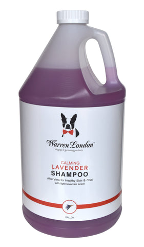 Calming Lavender Shampoo - Professional Size warren london dog products
