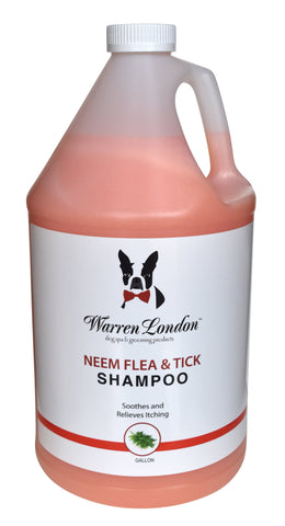Neem Oil Flea & Tick Shampoo For Groomers