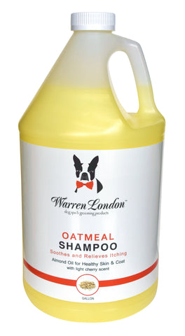 Oatmeal Shampoo - Cherry Scented - Professional Size warren london dog products