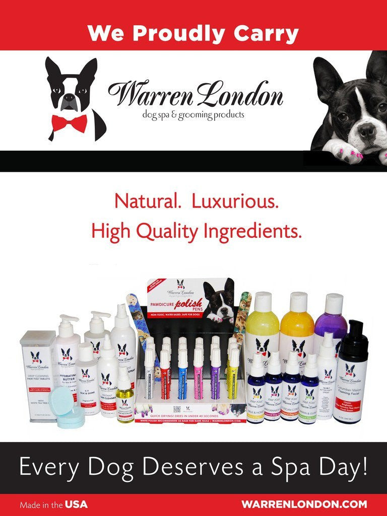 Poster - We Carry Warren London warren london dog products