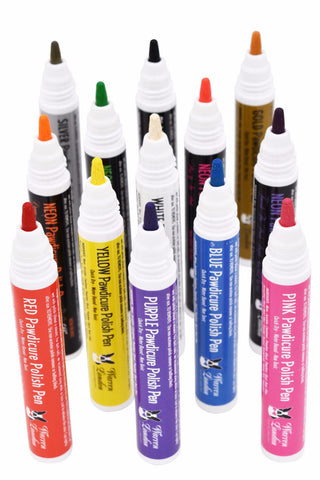 Pawdicure Polish Pens - Choose From 13 Colors! - Dog Nail Polish warren london dog products