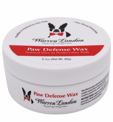 Paw Defense Wax - Soothes and Heals Dry Cracked Paw Pads