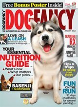 Dog Fancy Magazine with Warren London