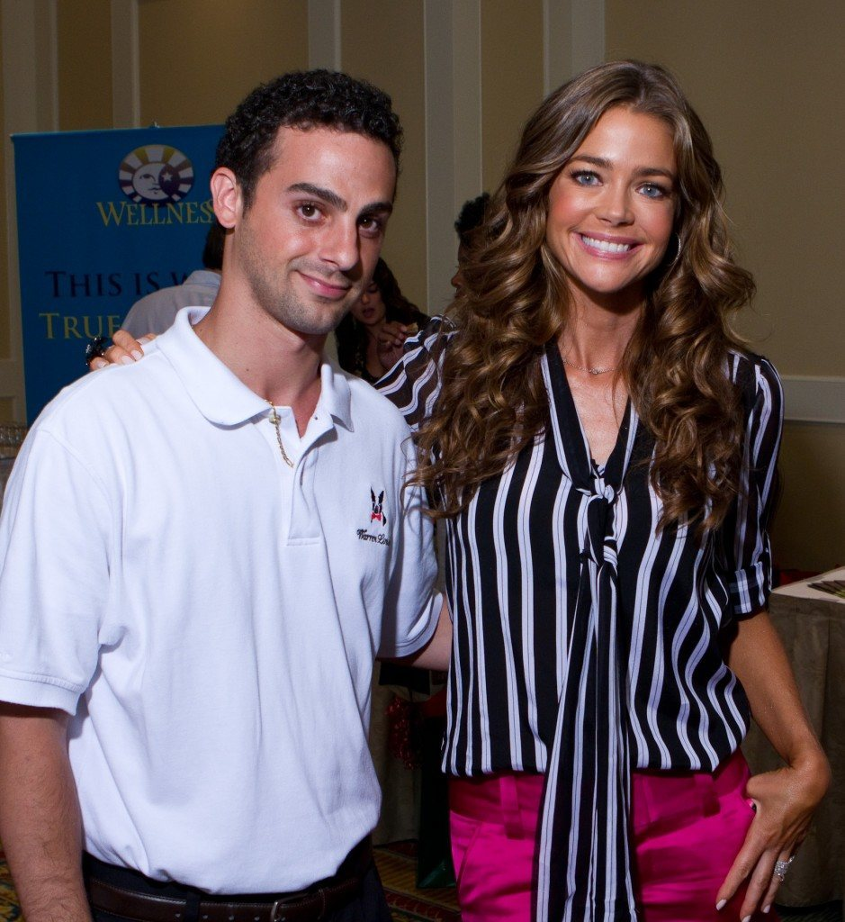 Denise Richards with Eric Bittman of Warren London