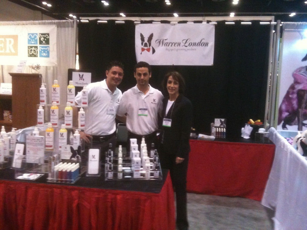 warren london crew at global pet expo