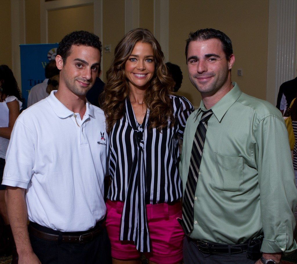 Denise Richards with Warren London