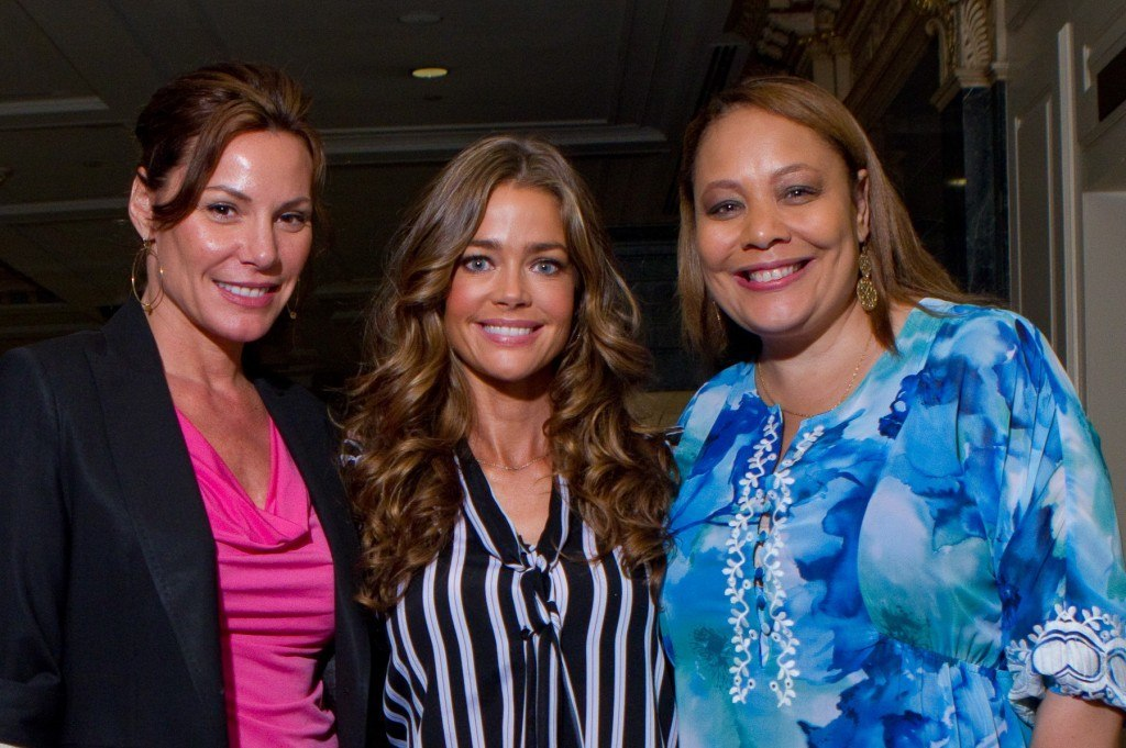 Denise Richards with Charlotte Reed