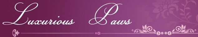 luxurious paws logo