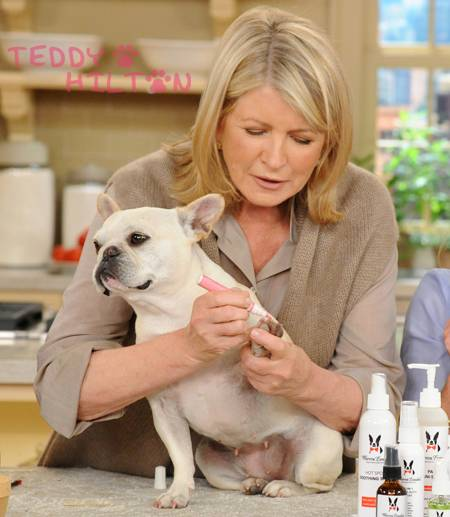 Martha Stewart with Warren London