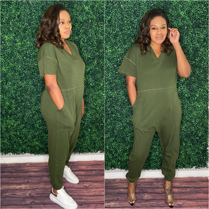 Harem Jumpsuit-Jumpsuit-TJS Beautique