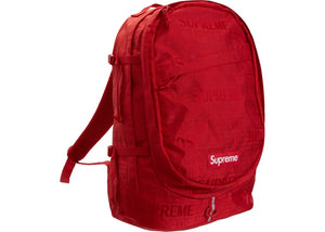 Supreme SS19 Red Backpack