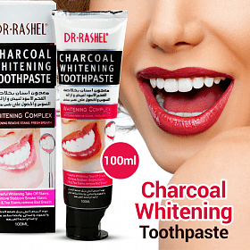 Charcoal Whitening Toothpaste Dr-Rashel
