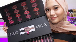 PALETTE HUDA BEAUTY 16 COLORS -LIQUID MATTE-