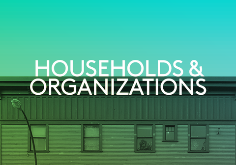 Picture of Households & Organizations