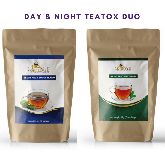 14 Day & NighTime Teatox Duo Pack - Brandnuuhealth