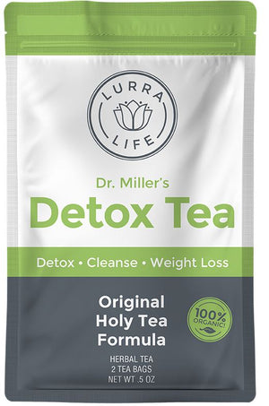 Dr Millers Detox Tea-LurraLife-One week Supply