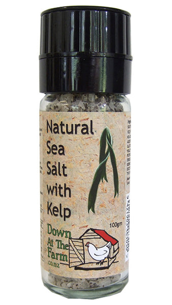 Natural Sea Salt and Kelp Grinder