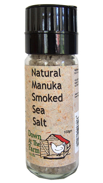 Natural Manuka Smoked Sea Salt