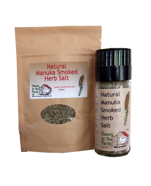 Combo: Manuka Smoked Herb Salt with 90g refill